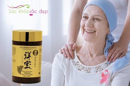 Yoho Mekabu Fucoidan hỗ trợ điều trị ung thư