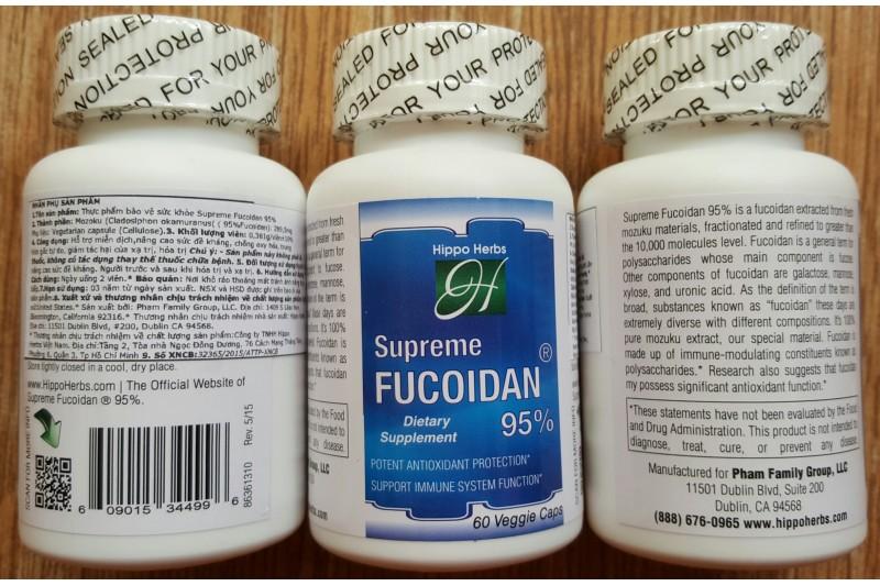 Viên uống Fucoidan chiết xuất từ tảo Nhật giúp người bệnh giảm đau đớn