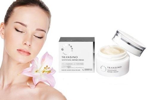 Transino whitening repair cream review từ khách hàng rất tốt
