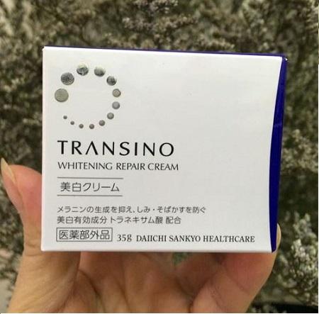 Mua kem dưỡng da Transino Whitening Repair Cream tại Suckhoesacdep.vn