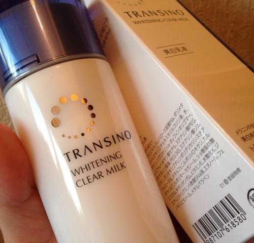 Sữa dưỡng Transino Whitening Clear Milk phù hợp với tất cả các loại da.