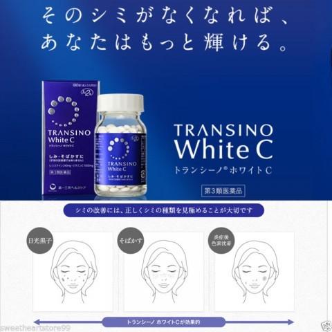 Transino White C - giải pháp điều trị nám da hiệu quả nhanh chóng