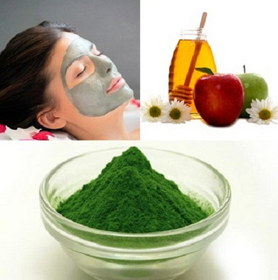chữa trị nám da bằng giấm táo và tảo mặt trời, mật ong