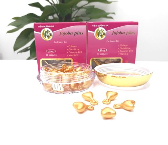 Tinh dầu jojoba plus rose dưỡng ẩm cho da khô và điều tiết dầu cho da nhờn