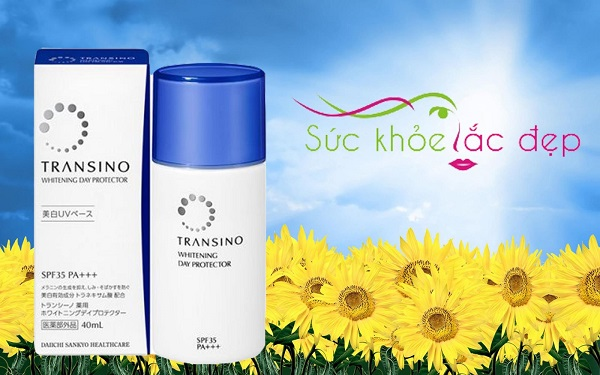 Kem chống nắng Transino Whitening Day Protector bảo vệ da bạn khỏi tia tử ngoại