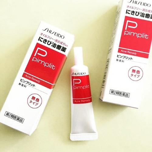 Kem trị mụn của Nhật Pimplit Shiseido hiệu quả cao