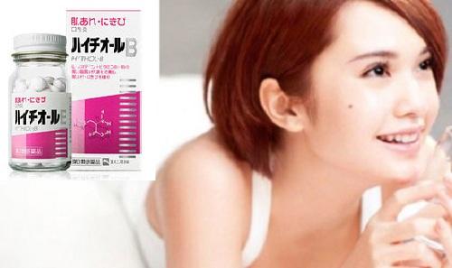 Viên uống trị mụn L-Cysteine 80mg của Nhật.chính hãng