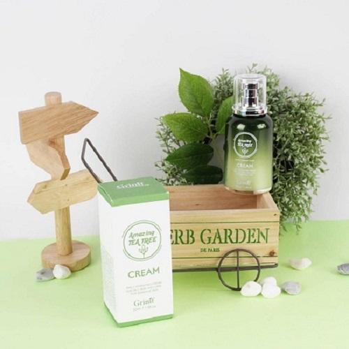 mỹ phẩm trị mụn Grinif Tea Tree Cream 50ml: