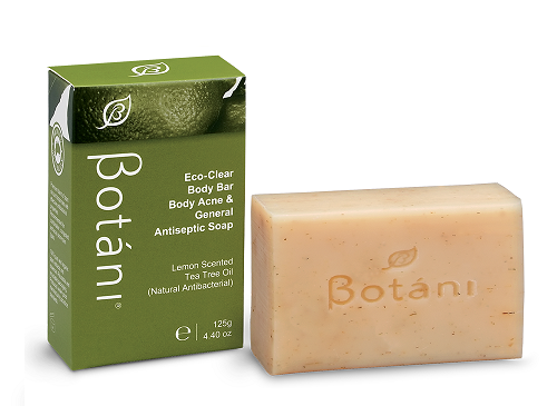 Eco-Clear Body Bar Body Acne & General Antiseptic Soap Botani