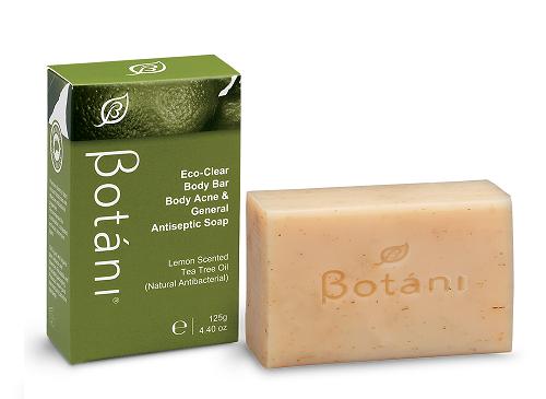 Eco-Clear Body Bar Body Acne & General Antiseptic Soap Botani