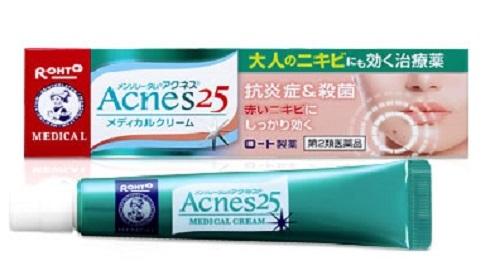 mỹ phẩm trị mụn Nhật Bản Rohto Acnes 25