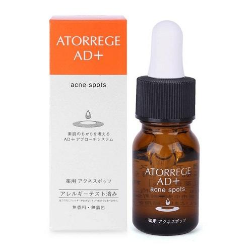 Tinh chất trị mụn Atorrege AD+ Medicated Acne Spots 10ml hàng chuẩn chính hãng