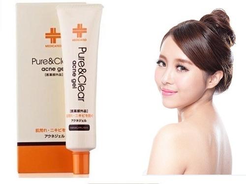 Kem trị mụn ẩn dưới da chính hãng của Nhật Bản Hanajirushi Acne Gel