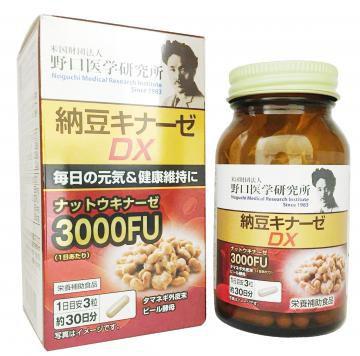 Viên Uống Nattokinase 3000FU Nhật Bản Chống Đột Quỵ
