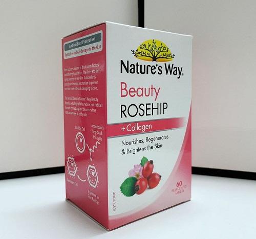 nature's way beauty rosehip + collagen an toàn cho sức khỏe người dùng
