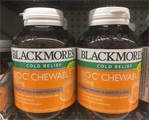 Bblackmores-cold-relief-bio-c-chewable-500mg