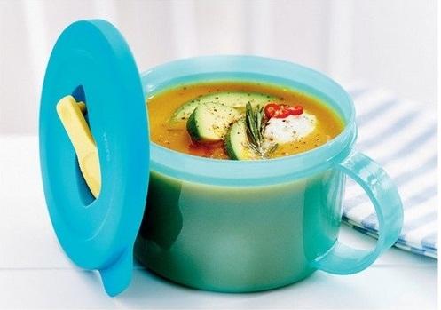crystalwave gen ii soup mug của tupperware