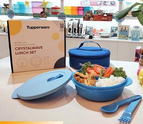 tupperware crystalwave lunch set được nhiều người yêu thích tin dùng
