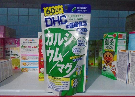 Viên Uống Bổ Sung Canxi DHC 60 Ngày Nhật Bản Chính Hãng Túi 180 Viên