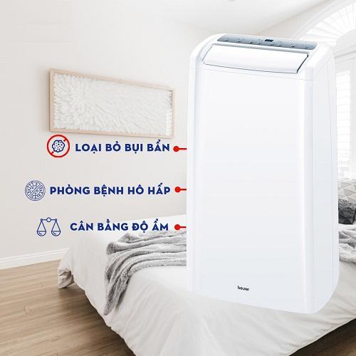 tác dụng của máy hút ẩm beurer le60