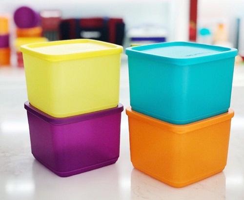 medium summer fresh tupperware có thể xếp chồng gọn gàng