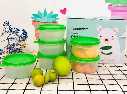 hộp bảo quản thực phẩm small saver an toàn cho sức khỏe, thân thiết với môi trường