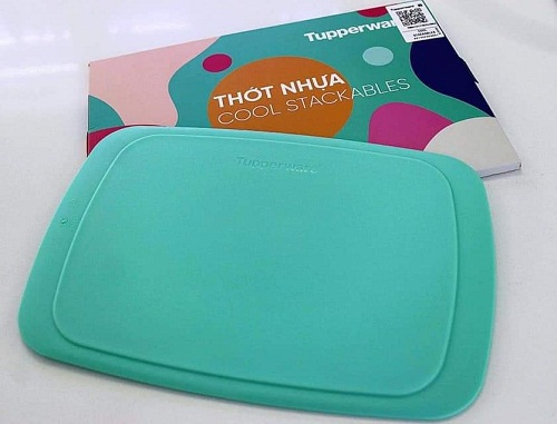 thớt nhựa cool stackables tupperware