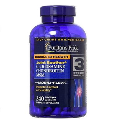 Glucosamin Chondroitin MSM 240 viên–không còn nỗi lo về xương khớp