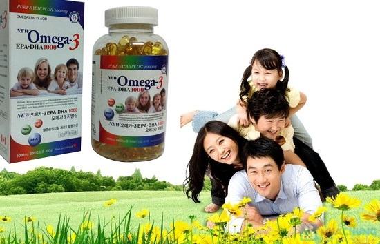 Omega 3 Tinh dầu cá hồi 1000mg Canada xuất khẩu Hàn Quốc
