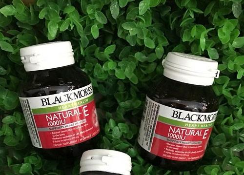 blackmore natural vitamin e 1000iu dạng viên tiện lợi khi sử dụng