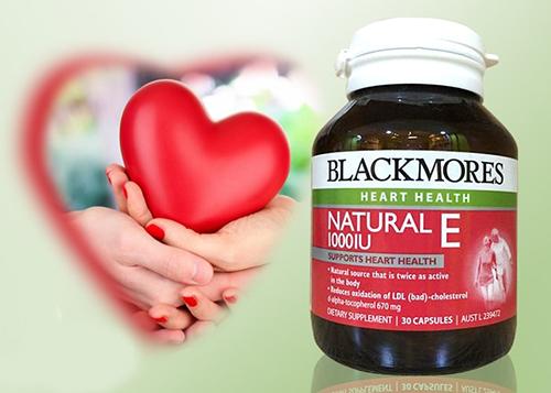 blackmore natural vitamin e 1000iu tăng cường sức khỏe tim mạch