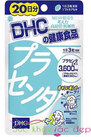 Viên uống nhau thai heo DHC có tốt không?