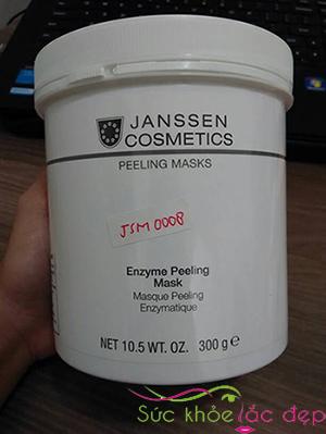 Janssen enzyme peeling mask