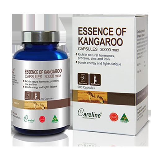 Essence Of Kangaroo Careline giúp tăng cường sinh lý phái mạnh
