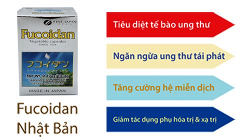 công dụng của viên uống fucoidan fine
