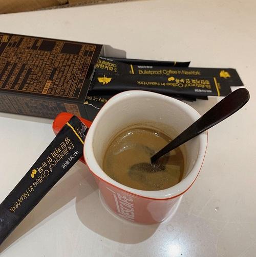 Bulletproof coffee in New York