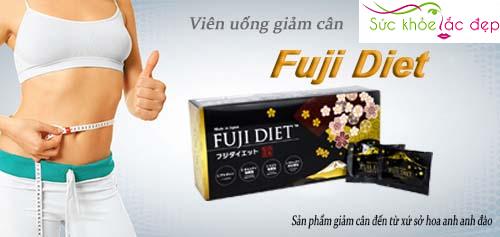 công dụng của viên uống giảm cân Fuji Diet