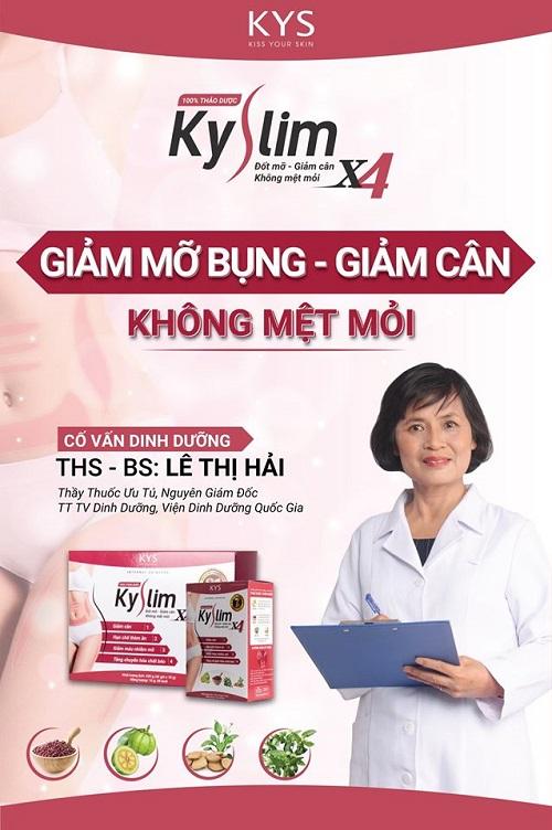 Thảo dược giảm cân KySlim X4 – Hộp trải nghiệm 7 ngày