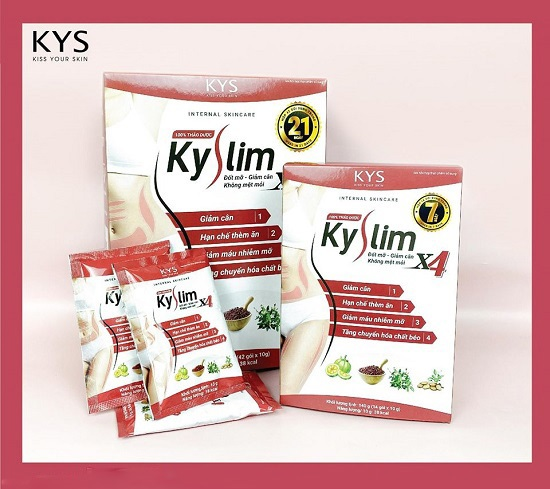 Thảo dược giảm cân KySlim X4