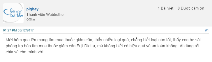 review fuji diet webtretho