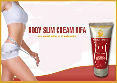 Review kem tan mỡ Body Slim Cream Bifa