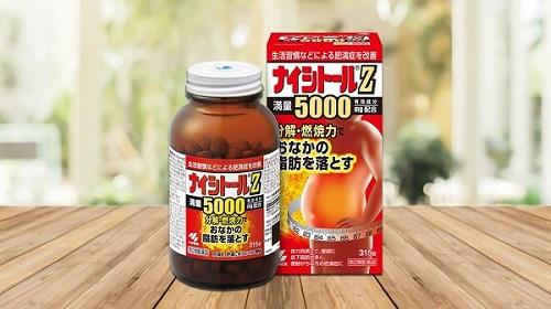Review viên giảm mỡ bụng Naishitoru Z 5000 Nhật Bản từ người dùng