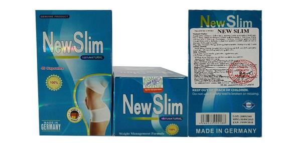 Review viên giảm cân New Slim
