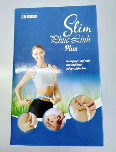 Viên uống giảm cân Slim Phục Linh mẫu mới