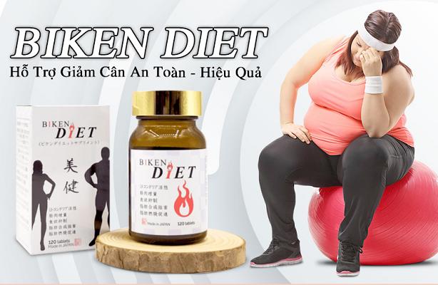 Viên uống giảm cân Biken Diet Nhật Bản đánh bay mỡ thừa hiệu quả