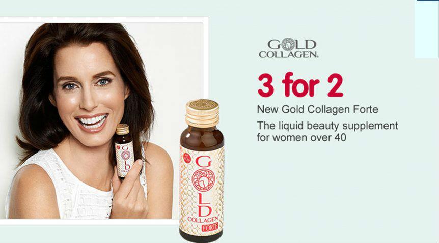 Gold Sollagen Forte - cải thiện làn da bạn hiệu quả