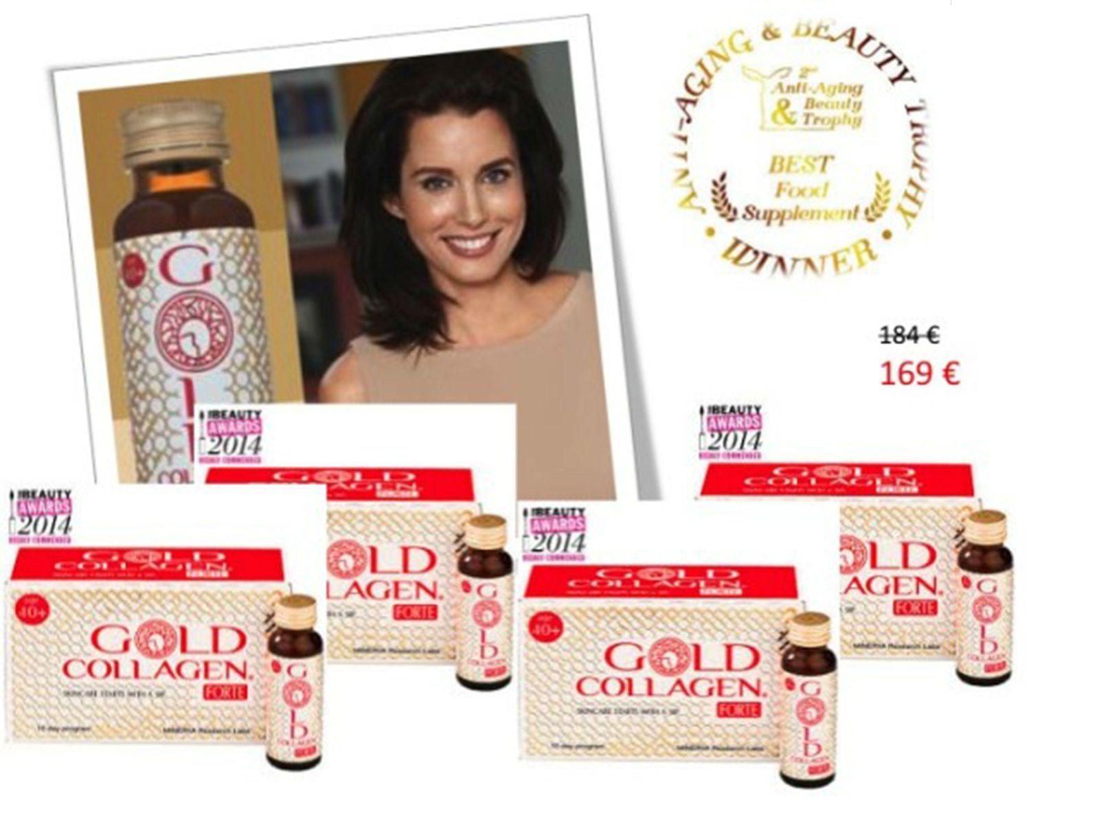 Sản phẩm Gold Sollagen forte - Chăm sóc làn da bạn hiệu quả