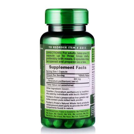 Người lớn tuổi dùng 3 viên feverfew 380 mg mỗi ngày tốt cho sức khỏe não