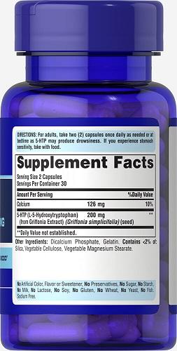 Uống 2 viên l-5 hydroxytrytophan 100 mg mỗi ngày cải thiện tinh thần sảng khoái