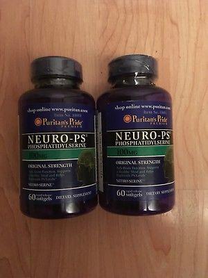 Người lớn uống 3 viên neuro ps puritan's pride mỗi ngày giúp não khỏe mạnh